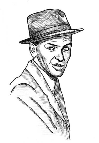 Frank Sinatra by lubrightside